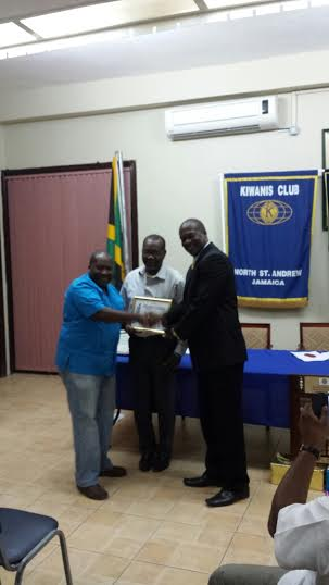 NDM President Peter Townsend at Kiwanis Club 20.2.14